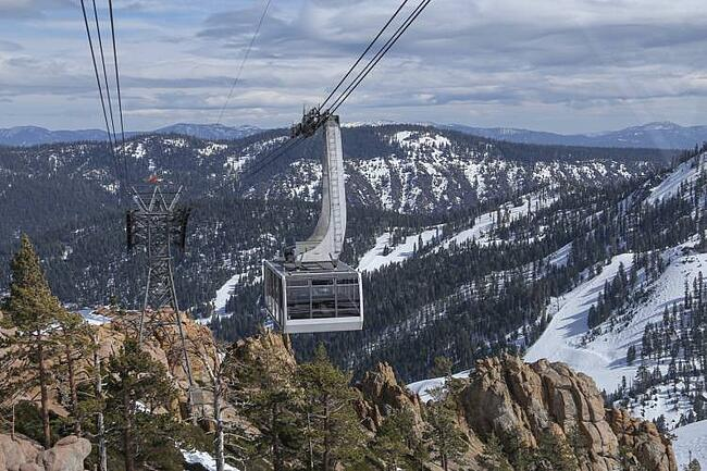Lake Tahoe Ski Lift