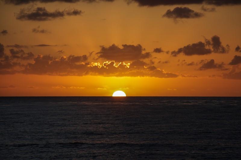 San Diego Sunset on Beach
